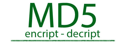 MD5 - Cripta e Decripta stringhe in md5